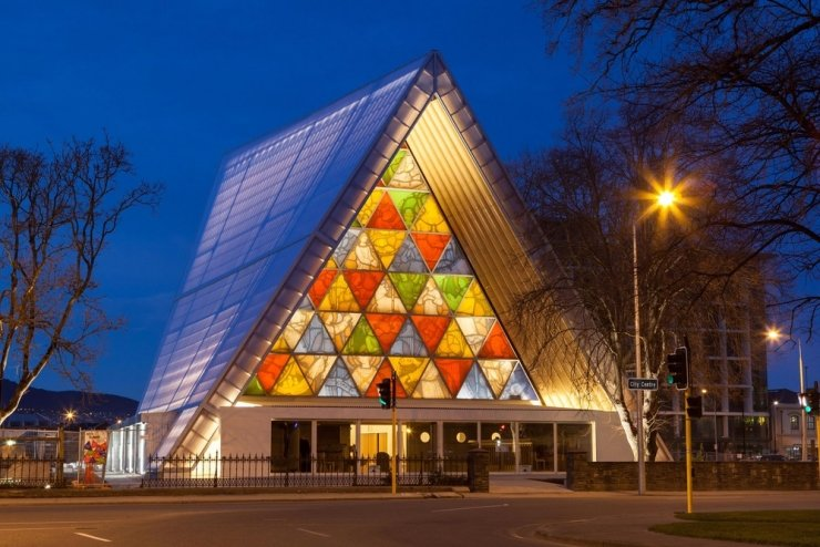 Cardboard cathedral's impermanence has promise