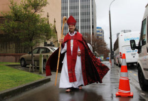 Bishop Justin will need fancy footwork