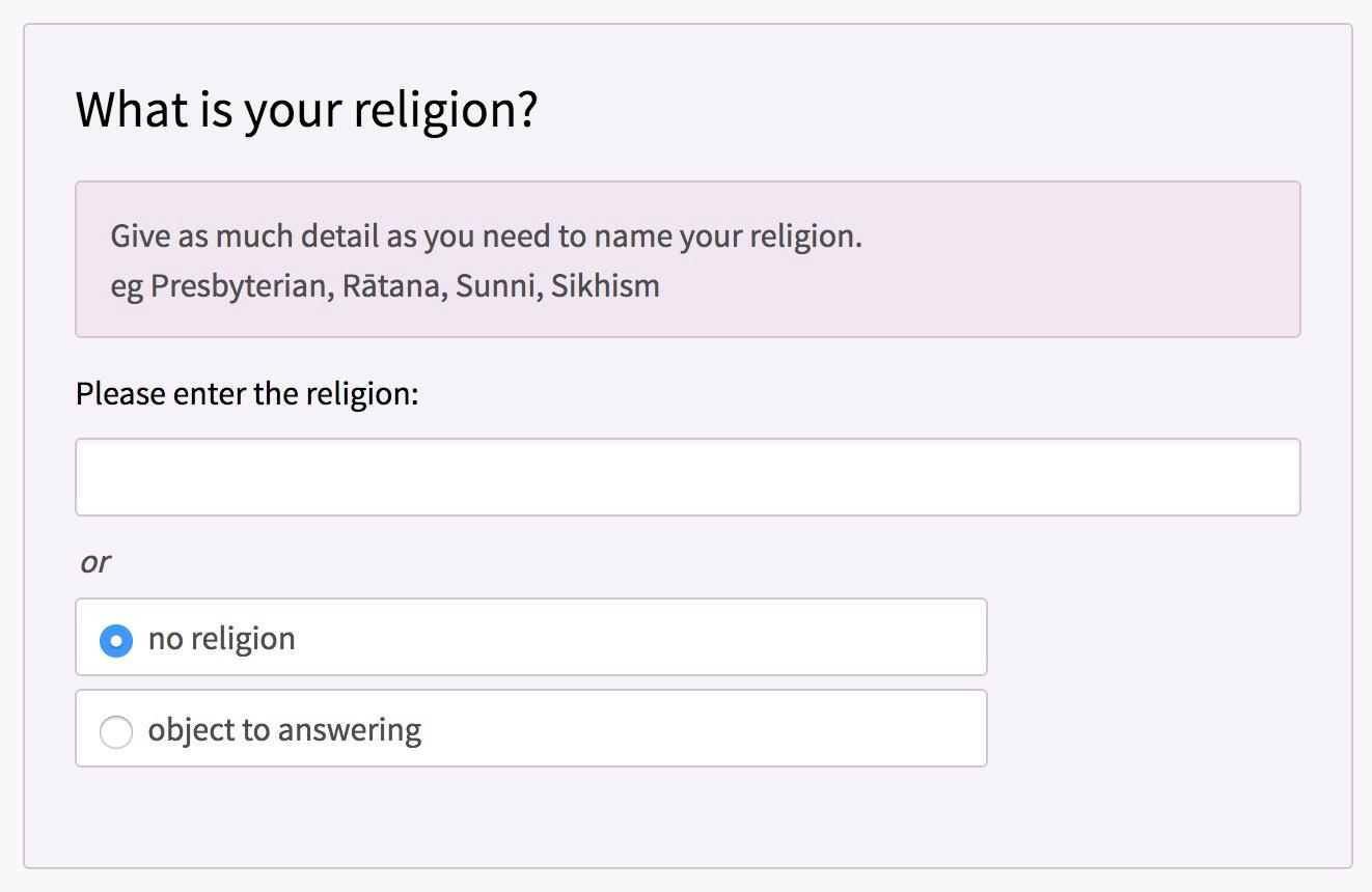 No religion but still soulful