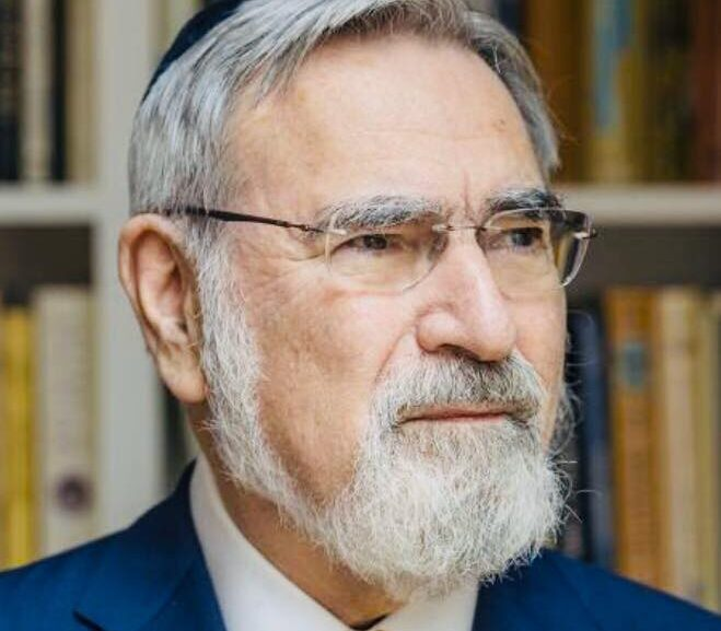 Sacred space: in memory of Rabbi Lord Jonathan Sacks 1948-2020